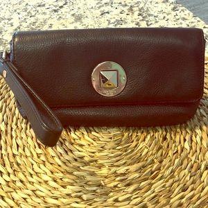 Kate Spade Large Leather Wristlet/Clutch